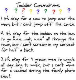 toddler greeting card conundrums