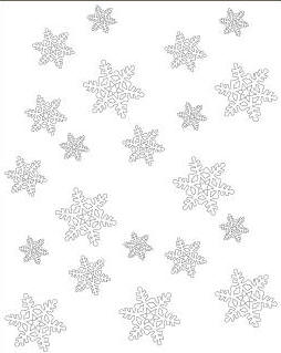 Toddler Snowflake Holiday Sign Act  Toddler Activities Games