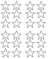 Fourth of july toddler activities wit toddler for Small star template printable free