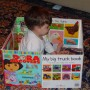 Make a Big Board Book House