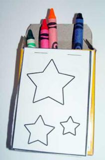 Crayon Carry Along Craft Activity Toddler Activities