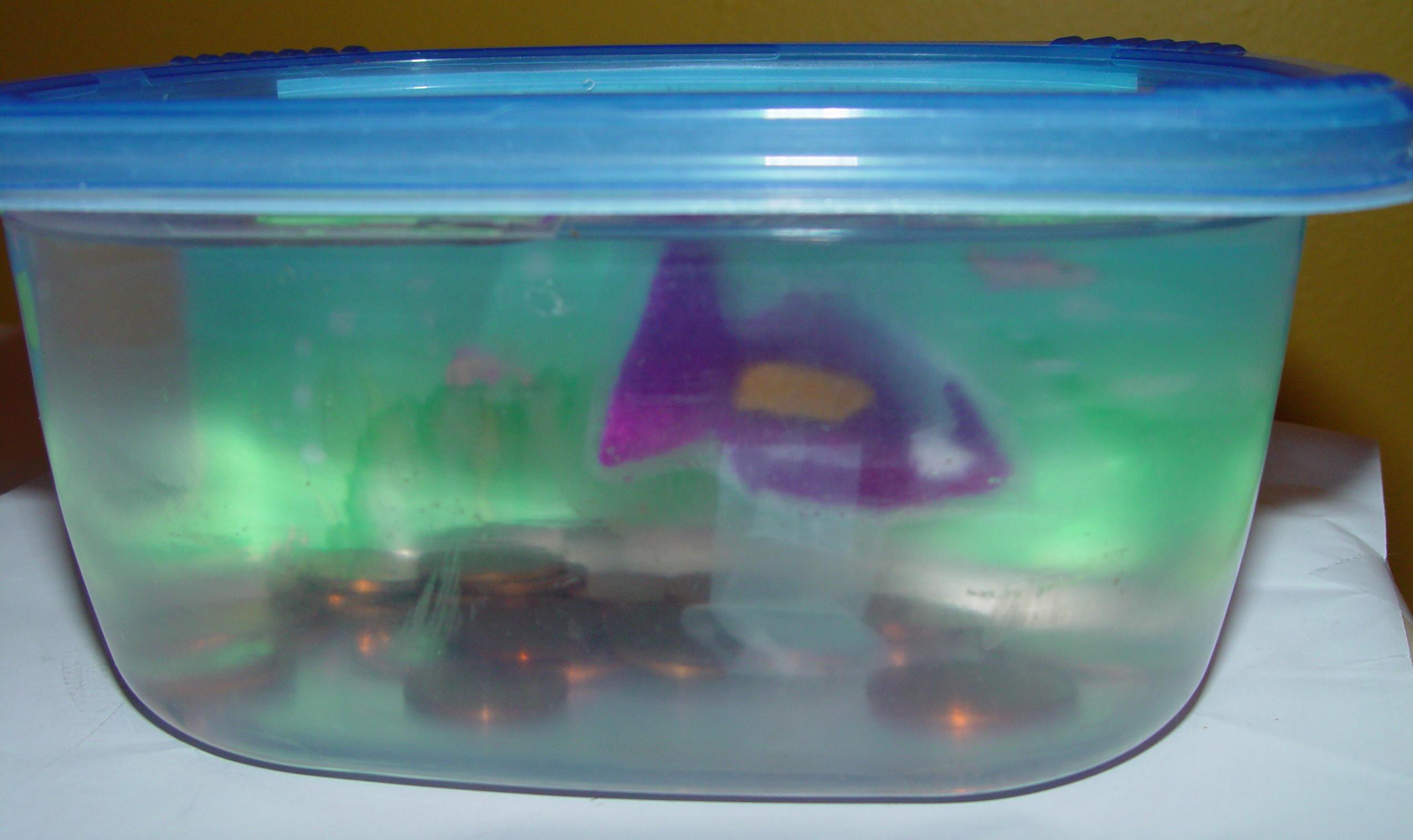 Toddler mini aquarium toddler activities games crafts for Mini aquarium