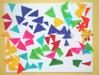 Toddler Mosaic Craft Activity Toddler Activities Games