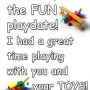 Playdate Thank You Note!