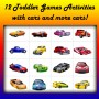 12 Activities and Games for Toddlers: Cars Theme!