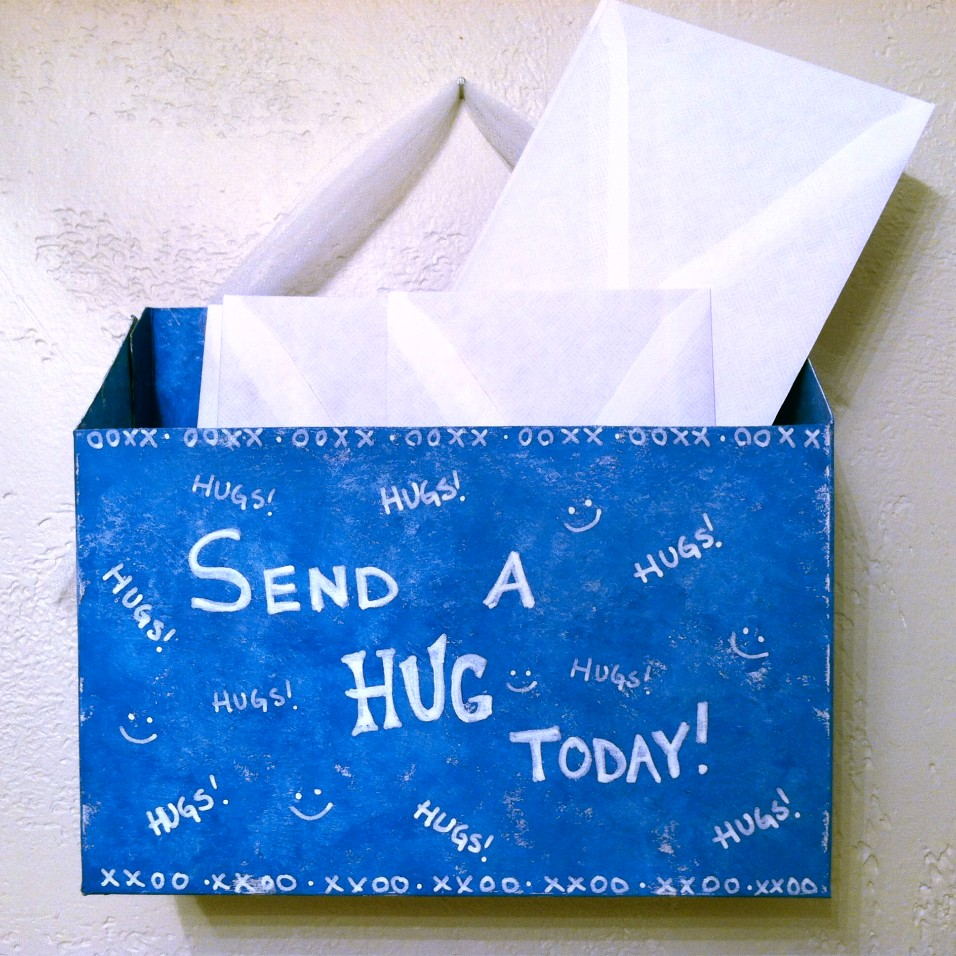 Send a hug mail box