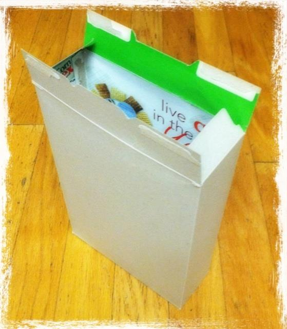 Toddler Activities: Cereal Box into Gift Box from www.toddlertoddler.com