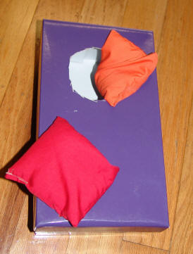 Toddlers Activities & Games: Bean Bag Toss