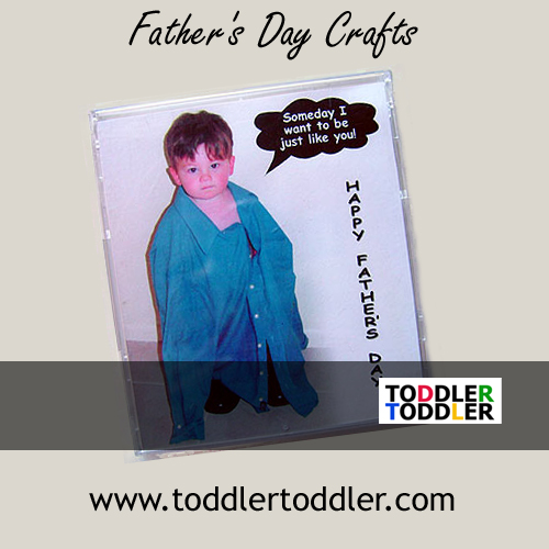 Father's Day Crafts (www.toddlertoddler.com) Toddlers Preschool