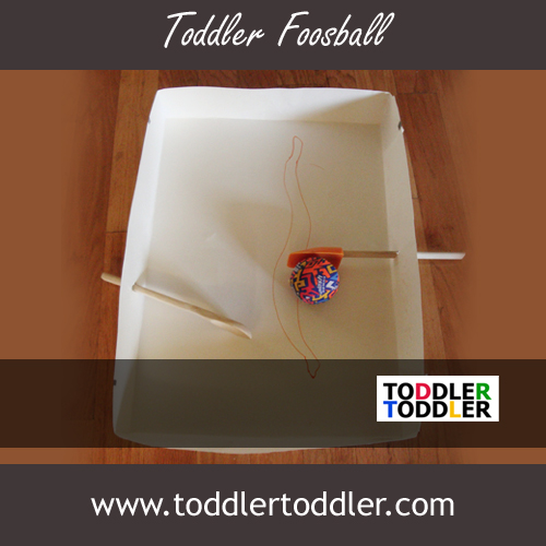 Toddlers Activities Games (www.toddlertoddler.com): Foosball