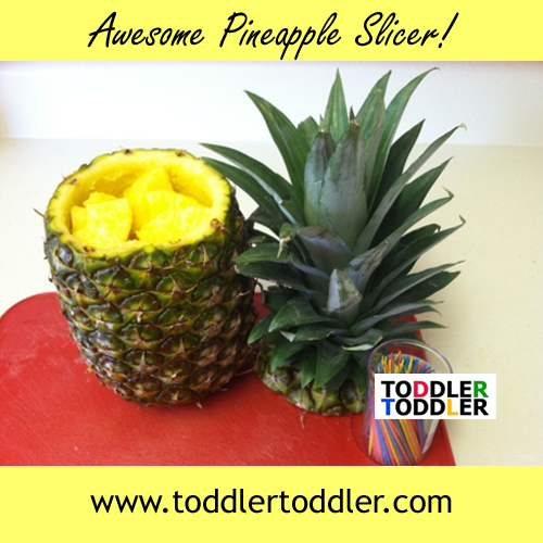 Awesome Kitchen Gadget : Pineapple Slicer and Party Time!