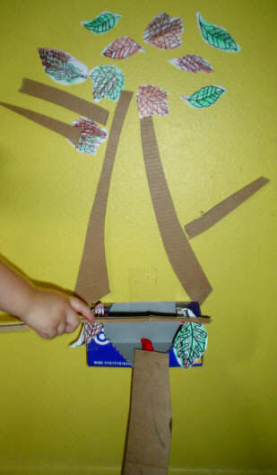 Toddler Activity: Make a Tree House www.toddlertoddler.com