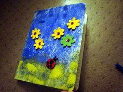 www.toddlertoddler.com Back to School : Custom Journal Cover