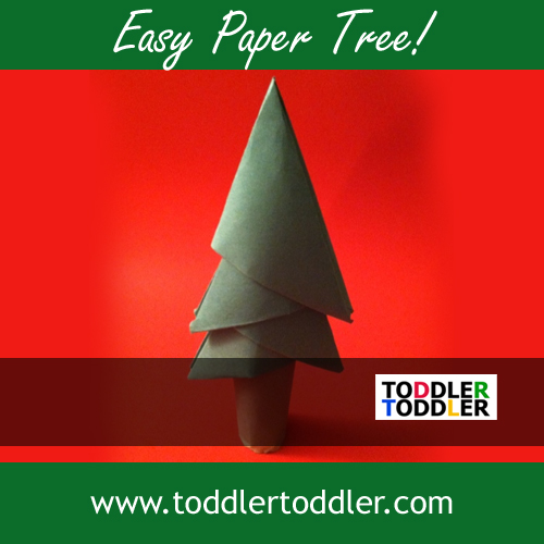 Toddler Activities, Crafts, Games www.toddlertoddler.com : Paper Tree