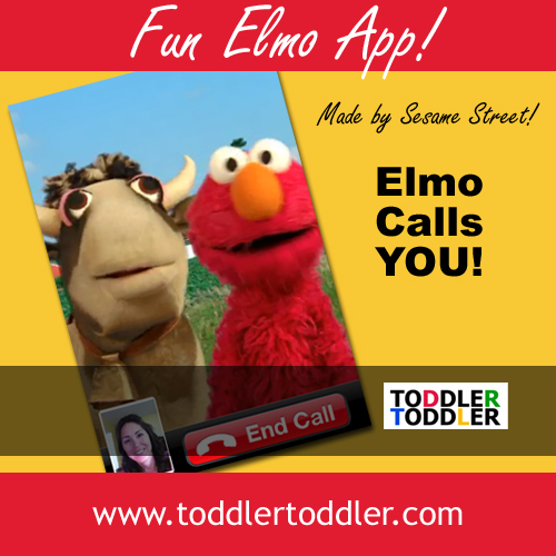 Toddler Activities: Preschooler Mobile App review - Elmo Calls