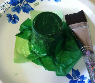 Toddler activities, crafts: Easy Little Leprechaun Hat for St Patrick