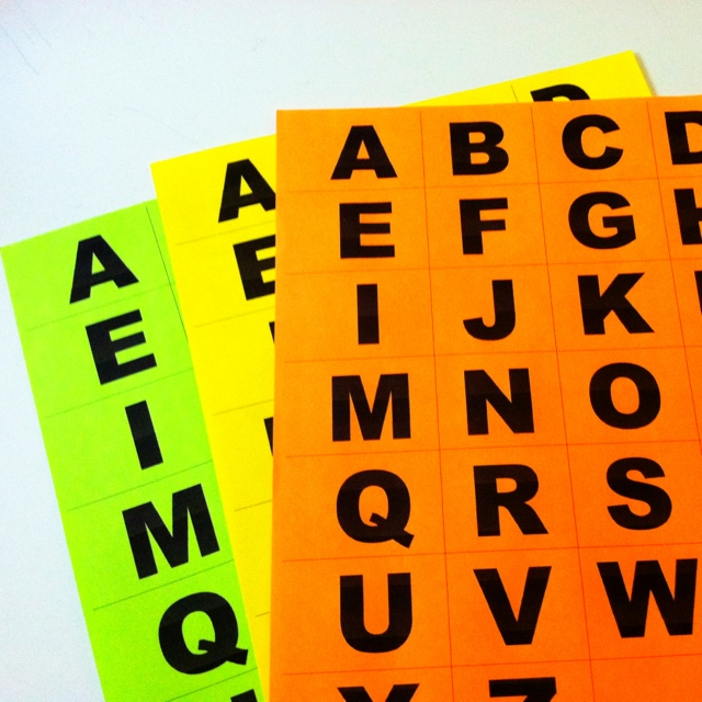 Alphabet Toddler activities: Color Letters Games