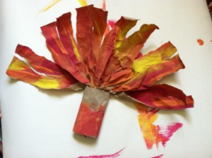 Thanksgiving Craft - Toddler Turkey 4
