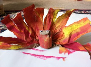 Thanksgiving Craft - Toddler Turkey 5