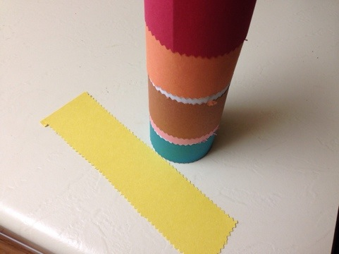 Toddler Rain Stick Craft Activity 2